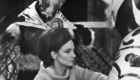 Doctor Who The Web Planet Menoptera inspect Barbara's hair