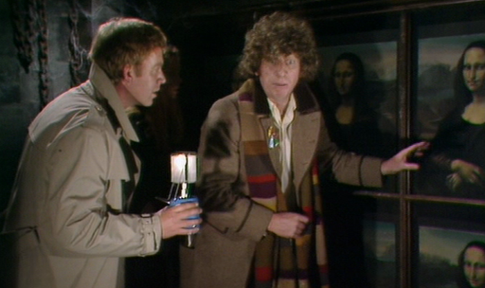 Doctor Who Tom Baker and Tom Chadbon as Duggan in City of Death