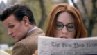 amy-pond-pretends-she-needs-glasses-to-impress-matt-smith-eleventh-angels-take-manhattan-doctor-who-back-when