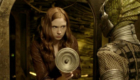 amy-pond-steals-a-silurian-gun-from-the-sleeping-pod
