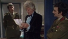 benton-and-brigadier-hang-out-with-pertwee-third-doc-by-the-tardis-planet-of-the-spiders-doctor-who-back-when