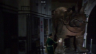 brigadier-lethbridge-stewart-in-underground-with-triceratops-invasion-of-the-dinosaurs-doctor-who-back-when
