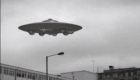 Flying saucer over London
