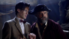 captain-avery-and-eleven-matt-smith-curse-of-the-black-spot-doctor-who-back-when