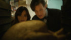 clara-and-matt-smith-eleven-behold-the-turkey-time-of-the-doctor-who-back-when