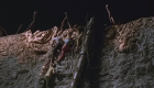 Doctor Who and the Daleks Peter Cushing climb blooper