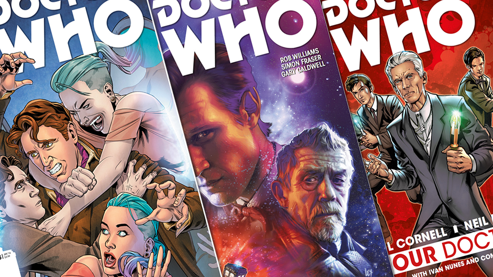 B027 Doctor Who Comic Book Reviews #2   Who Back When   A