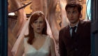 doctor who drwho whobackwhen runaway bride tennant and donna tate look into space