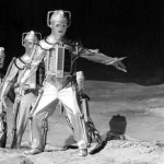 Cybermen arrive on the moon in the Classic Doctor Who serial The Moonbase with Patrick Troughton