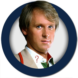 Dr Who The Fifth Doctor Peter Davison