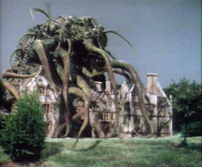Fully grown Krynoid in Seeds of Doom
