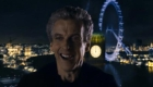 happy smiling Capaldi Doctor