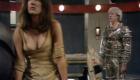 leela-in-ridiculously-revealing-outfit-with-a-minyan-in-the-background-underworld-doctor-who-back-when