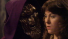 masked-hieronymus-holds-sarah-jane-smith-hostage-masque-of-mandragora-doctor-who-back-when