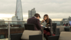 matt-smith-eleven-clara-oswald-and-shard-in-background-bells-of-saint-john-doctor-who-back-when