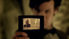 matt-smith-with-william-hartnells-library-card-in-vampires-of-venice-doctor-who-back-when