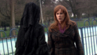 miss-evangelista-in-black-with-donna-noble-forest-of-the-dead-doctor-who-back-when