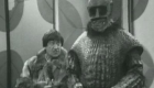Sonny Caldinez with Troughton in Doctor Who, The Ice Warriors