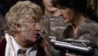 pertwee-third-doc-on-phone-at-gunpoint-day-of-the-daleks-doctor-who-back-when