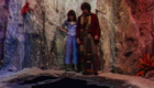 pit-staring-back-at-sarah-jane-smith-and-tom-baker-fourth-planet-of-evil-doctor-who-back-when