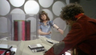 sarah-jane-smith-companion-at-tardis-console-with-tom-baker-fourth-planet-of-evil-doctor-who-back-when