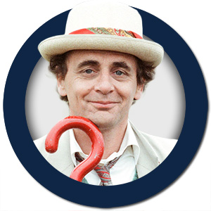 Dr Who The Seventh Doctor Sylvester McCoy