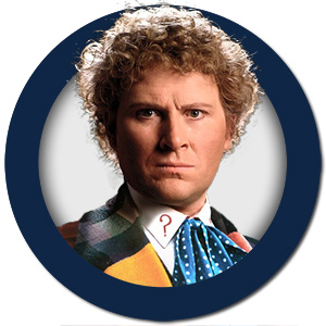 Dr Who The Sixth Doctor Colin Baker
