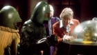 Sonny Caldinez with Pertwee in Doctor Who, The Curse of Peladon