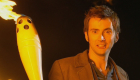 tennant with olympic torch fear her doctorwho drwho doctor who whobackwhen