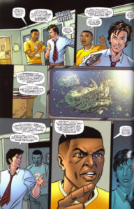 Doctor Who comic strip The Lodger by Gareth Roberts, page 6