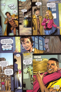 Doctor Who comic strip The Lodger by Gareth Roberts, page 7