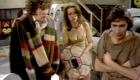 tom-baker-four-with-companion-leela-and-whatshisface-the-young-minyan-doofus-underworld-doctor-who-back-when